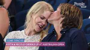 Nicole Kidman and Keith Urban Cuddle Up at the Australian Open [Video]