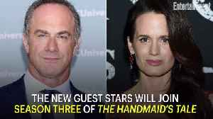 Christopher Meloni and Elizabeth Reaser to Guest Star on 'The Handmaid's Tale' [Video]
