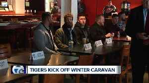 Detroit Tigers kick off annual Winter Caravan today [Video]