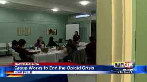 Volunteer Group Hopes To End Opioid Crisis [Video]