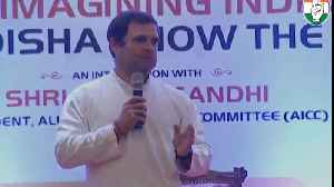 'Feel like hugging Narendra Modi when he abuses me': Rahul Gandhi [Video]