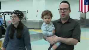 Young Jewish family kicked off plane for offensive