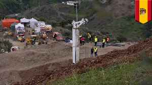 Rescue mission for Spanish toddler stuck in a well continues [Video]