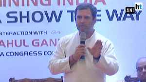 Will make sure PM Modi is not heading country after general elections: Rahul Gandhi [Video]