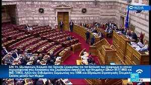 Greece's parliament approves Macedonia name change deal [Video]