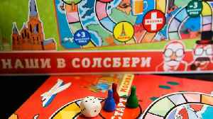 New Russian board game mocks Salisbury Novichok nerve agent attack [Video]