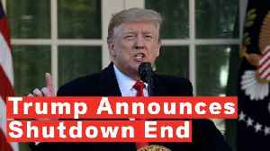 Trump Announces Deal Reached To End Longest Government Shutdown In US History [Video]