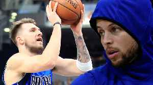 Mavs Star Luka Doncic Had A SECRET Workout With Steph Curry! [Video]