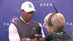 Tiger satisfied with 70 [Video]