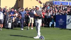 Tiger Woods takes the course at Torrey Pines [Video]