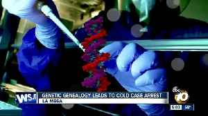 Genetic genealogy leads to cold case arrest [Video]