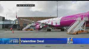 WOW Air Offering Anyone Named 'Valentine' Free Flight From Boston To Iceland For Their Significant Other [Video]