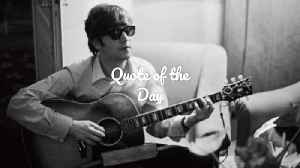 John Lennon: Quote Of The Day [Video]