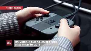 Videogame Sales At An All Time High In 2018 [Video]