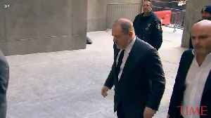 Harvey Weinstein Back in Court Friday to Defense Legal Team With 4 New Lawyers [Video]