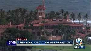 Chef files lawsuit against Mar-a-Lago [Video]