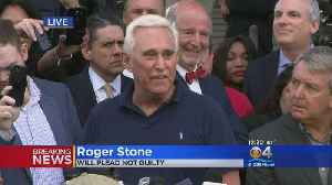 WEB EXTRA: Roger Stone Addresses Media After Arrest and Bond Hearing [Video]