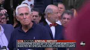 SPECIAL REPORT | Roger Stone speaks after court appearance in Florida, indicted by Special Counsel for obstruction, false statem [Video]