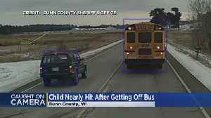 WATCH: Close Call As SUV Illegally Passes Wisconsin School Bus [Video]