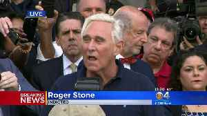 WEB EXTRA: Roger Stone: 'I WIll Plead Not Guilty' [Video]