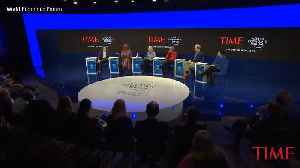 Davos Panel on Inequality Becomes Discussion About the Very Rich 'Paying Their Fair Share' [Video]