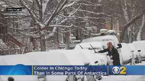 Chicago Is Colder Than Parts Of Antarctica, Alaska, Iceland [Video]