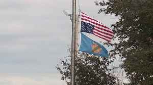 Parents Upset by Upside-Down, Half-Staff Flags Flying Above Middle School for Days [Video]