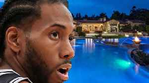 Kawhi Leonard Buys MASSIVE Home in CA, Hinting At Joining Clippers or Lakers! [Video]