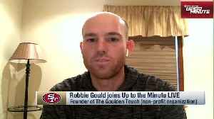 49ers Man of the Year nominee Robbie Gould describes his community outreach work [Video]