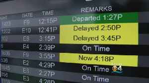 Flight Delays At South Florida Airports Blamed On Government Shutdown [Video]