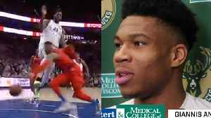 Giannis Antetokounmpo Drafting ENEMIES Westbrook & Embiid On The SAME Team For All-Star Game! [Video]