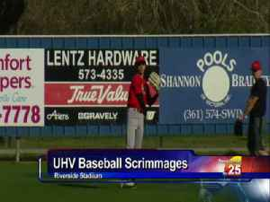 UHV Baseball, Softball Have Weekend Action [Video]