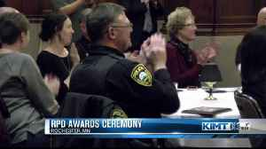 Rochester police awards [Video]