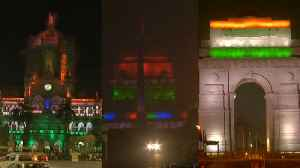 Delhi's India Gate, Mumbai's CST station light up ahead of Republic Day [Video]