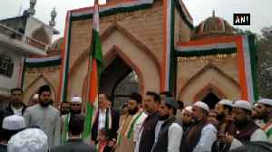 Darul Uloom Firangi Mahal Madarsa in UP's Lucknow celebrates 70th Republic Day [Video]