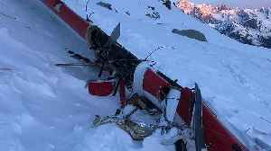 Seven people killed in mid-air collision over the Italian Alps [Video]
