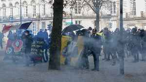 11th Straight Weekend Of 'Yellow Vest' Protests [Video]