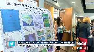 Researchers, students meet to promote solutions to Florida water quality problems [Video]
