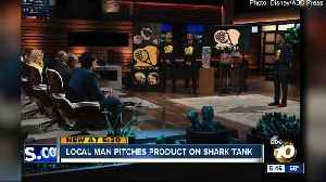 San Diego man pitches product on Shark Tank [Video]