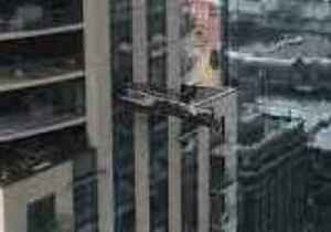 Window Cleaners Hang on for Dear Life as Scaffold Comes Lose on Denver Skyscraper [Video]
