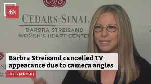 Barbra Streisand Wants Those Cameras Pointed At Her The Right Way [Video]