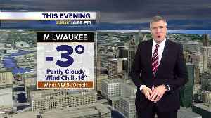 Wind chill advisories for Sheboygan, Fond du Lac counties [Video]