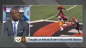 Former NFL wide receiver Terrell Owens: Best for wide receiver Antonio Brown and Pittsburgh Steelers to 'part ways' [Video]