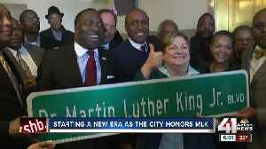 Students at Paseo Academy reflect on new MLK street name [Video]