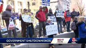 As shutdown ends, federal workers still concerned about future [Video]
