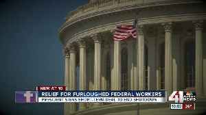 Relief for furloughed federal workers [Video]