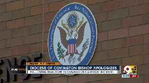 Diocese of Covington bishop apologizes for premature statements [Video]