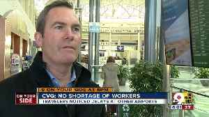 CVG escapes shutdown worker shortage affecting airports [Video]