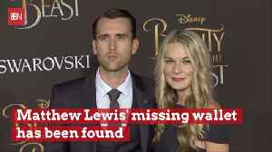 Matthew Lewis Wallet Is Retuned With Nothing Missing: Love Works [Video]