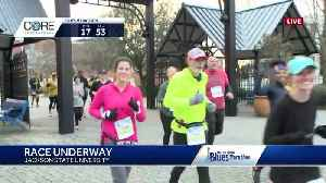 David Hartman running in Blues Marathon [Video]